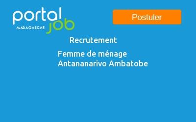 Liste des offres d'emploi - MAIN D'OEUVRE / MéNAGE / CHAUFFEUR